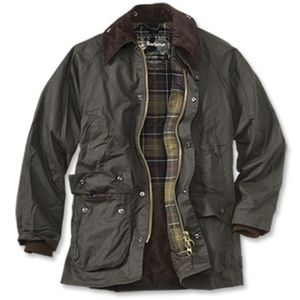 Classic Barbour Bedale (Unisex, Green)